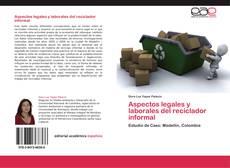 Capa do livro de Aspectos legales y laborales del reciclador informal