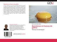 Bookcover of Quinolonas en huevos de gallina