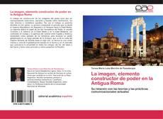 Portada del libro de La imagen, elemento constructor de poder en la Antigua Roma