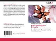 Capa do livro de Homosexualidad y Derecho