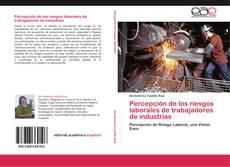 Bookcover of Percepción de los riesgos laborales de trabajadores de industrias