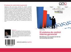 Capa do livro de El sistema  de control interno gerencial