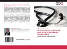 Aplicación de la terapia neural en la lumbalgia inespecífica kitap kapağı