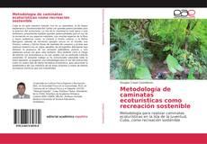 Bookcover of Metodología de caminatas ecoturísticas como recreación sostenible