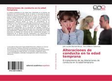 Alteraciones de conducta en la edad temprana kitap kapağı