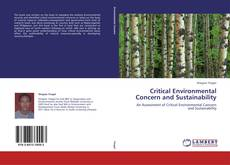 Bookcover of Critical Environmental Concern and Sustainability