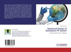 Обложка Optimized Design of Standalone PV System