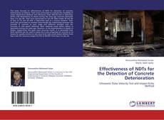 Couverture de Effectiveness of NDTs for the Detection of Concrete Deterioration