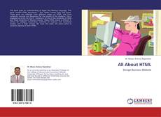 Bookcover of All About HTML