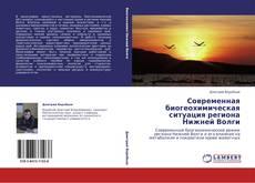 Bookcover of Современная биогеохимическая ситуация региона Нижней Волги