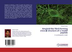 Bookcover of Amyloid-like fibril-forming cross-β-structure of a model peptide