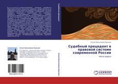 Судебный прецедент в правовой системе современной России的封面