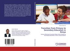 Capa do livro de Transition from Primary to Secondary Education in Kenya