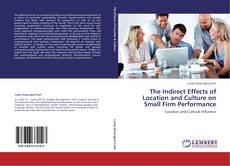 Buchcover von The Indirect Effects of Location and Culture on Small Firm Performance