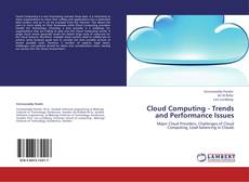Bookcover of Cloud Computing - Trends and Performance Issues