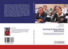 Couverture de Training & Generational Differences