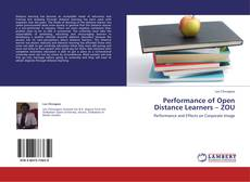 Bookcover of Performance of Open Distance Learners – ZOU