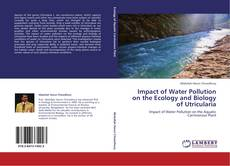 Portada del libro de Impact of Water Pollution on the Ecology and Biology of Utricularia