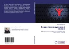 Bookcover of Социология духовной жизни