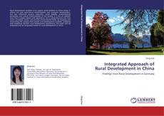 Buchcover von Integrated Approach of Rural Development in China