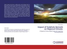 Buchcover von Impact of Sulphate Aerosols on Regional Climate: