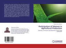 Bookcover of Participation of Women in Agricultural Production