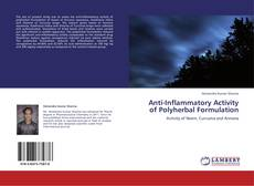 Copertina di Anti-Inflammatory Activity of Polyherbal Formulation