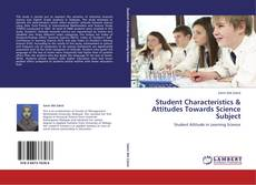 Buchcover von Student Characteristics & Attitudes Towards Science Subject