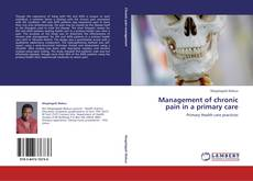 Buchcover von Management of chronic pain in a primary care