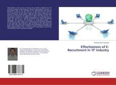 Portada del libro de Effectiveness of E-Recruitment in 'IT' Industry