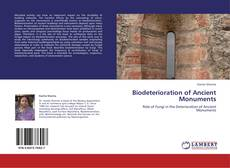 Bookcover of Biodeterioration of Ancient Monuments