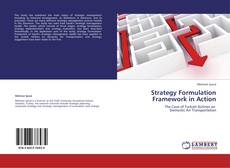 Обложка Strategy Formulation Framework in Action
