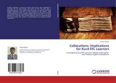 Обложка Collocations: Implications for Kurd EFL Learners