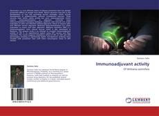 Immunoadjuvant activity kitap kapağı
