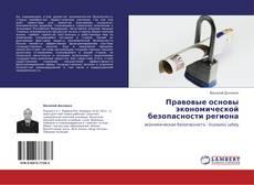 Обложка Правовые основы экономической безопасности региона