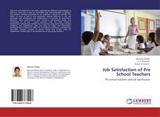 Couverture de Job Satisfaction of Pre School Teachers