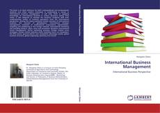 International Business Management kitap kapağı