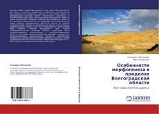 Особенности морфогенеза в пределах Волгоградской области的封面