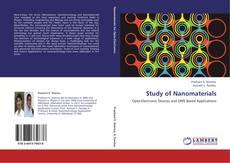 Capa do livro de Study of Nanomaterials