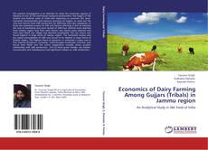 Capa do livro de Economics of Dairy Farming Among Gujjars (Tribals) in Jammu region
