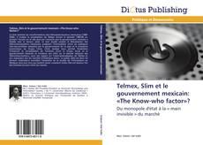 Buchcover von Telmex, Slim et le gouvernement mexicain: «The Know-who factor»?
