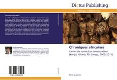 Portada del libro de Chroniques africaines