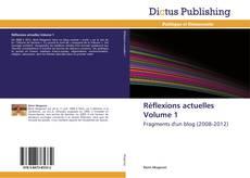Réflexions actuelles Volume 1 kitap kapağı