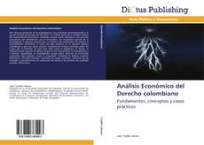Análisis Económico del Derecho colombiano的封面