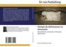 Tiempo de definiciones en Venezuela kitap kapağı