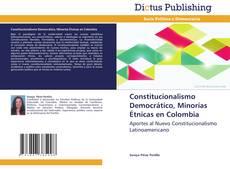 Constitucionalismo Democrático, Minorías Étnicas en Colombia kitap kapağı