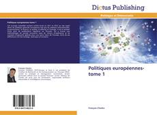 Обложка Politiques européennes-tome 1