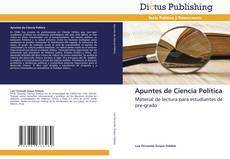 Bookcover of Apuntes de Ciencia Política