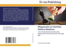 Обложка Maquiavelo un Cientísta Político Moderno