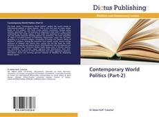 Buchcover von Contemporary World Politics  (Part-2)